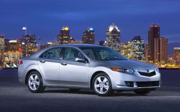 Announcement of the price of the new 2009 Acura TSX