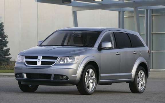 Dodge Journey 2009, the competition for the Mazda5