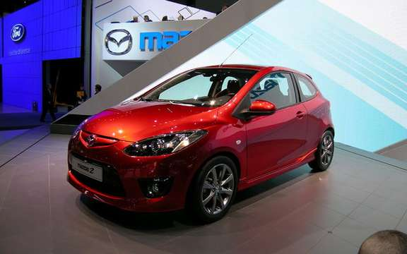 The Mazda 2 elue World Car of the Year 2008 picture #2