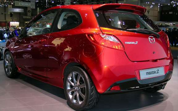The Mazda 2 elue World Car of the Year 2008 picture #4