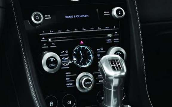 Bang & Olufsen audio system provides a new bespoke Aston Martin DBS