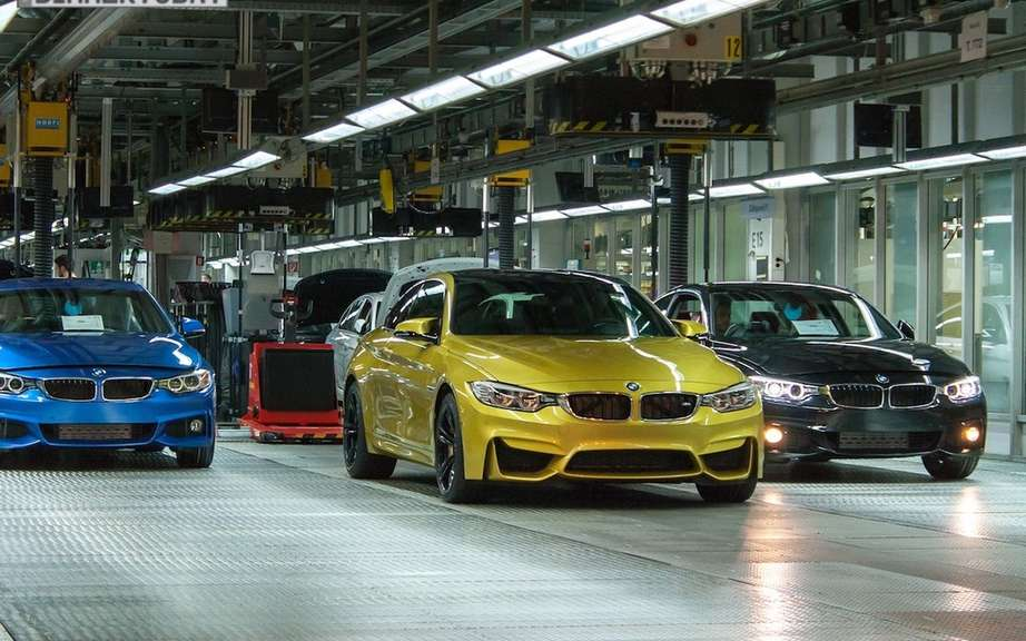 Here are the 2015 BMW M3 and M4