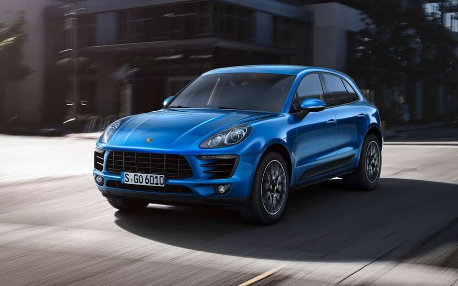 Porsche Macan has four-cylinder engines picture #2