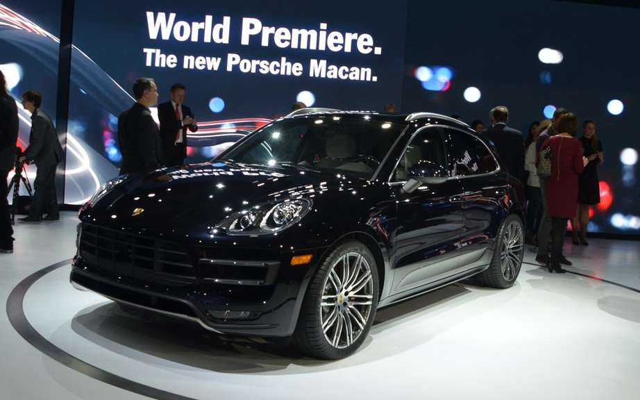 Porsche Macan has four-cylinder engines picture #3
