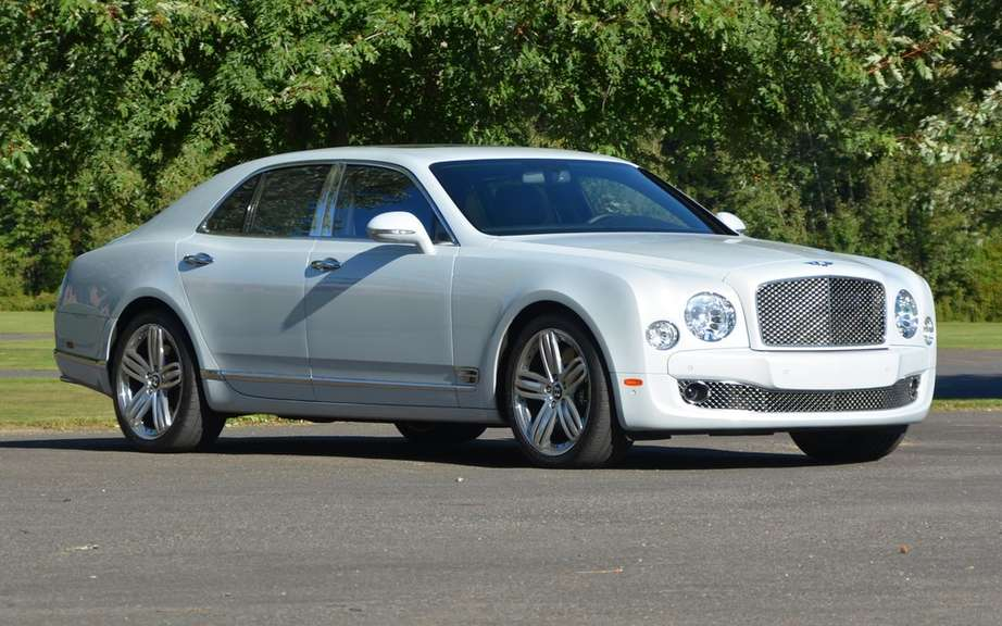 Bentley marked increase in sales
