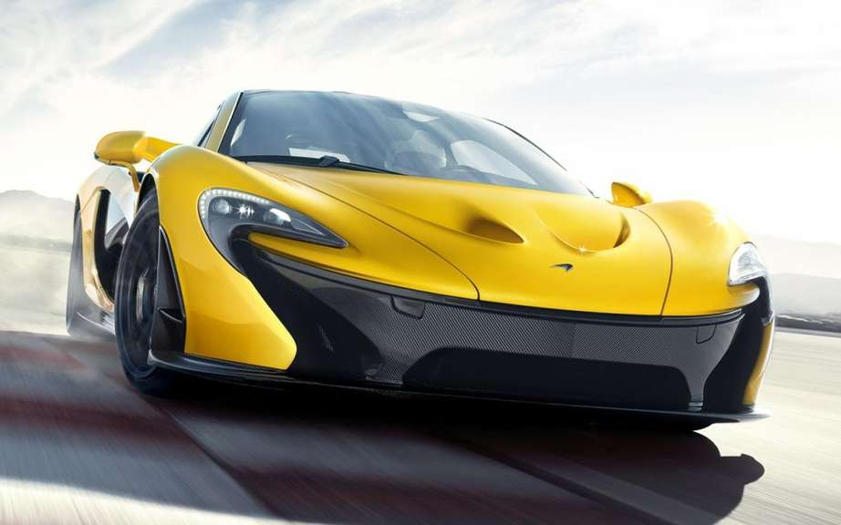 McLaren confirms the beginning of the production of P1 picture #2