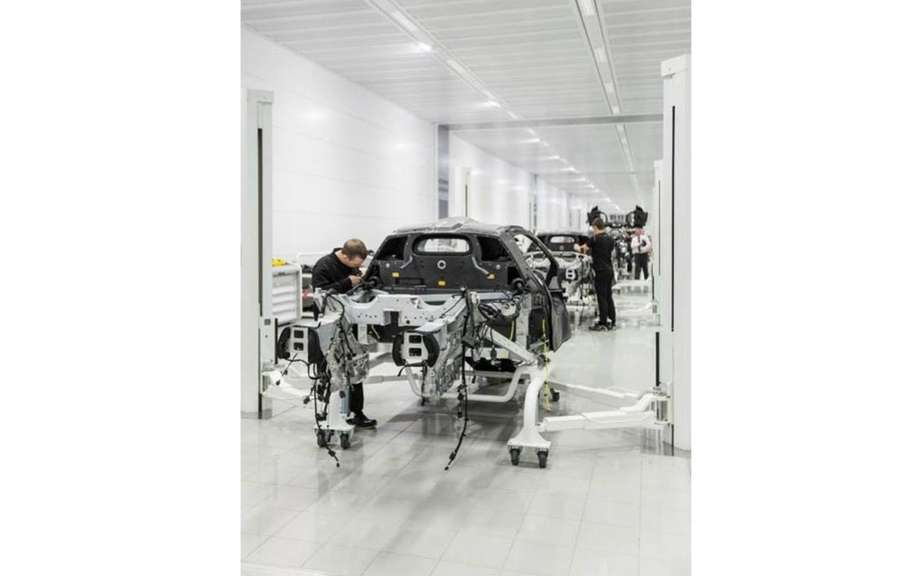 McLaren confirms the beginning of the production of P1 picture #8