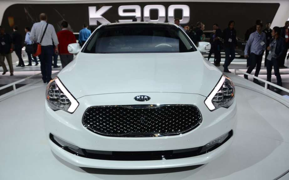 Kia K9: it will become the K900 in North America
