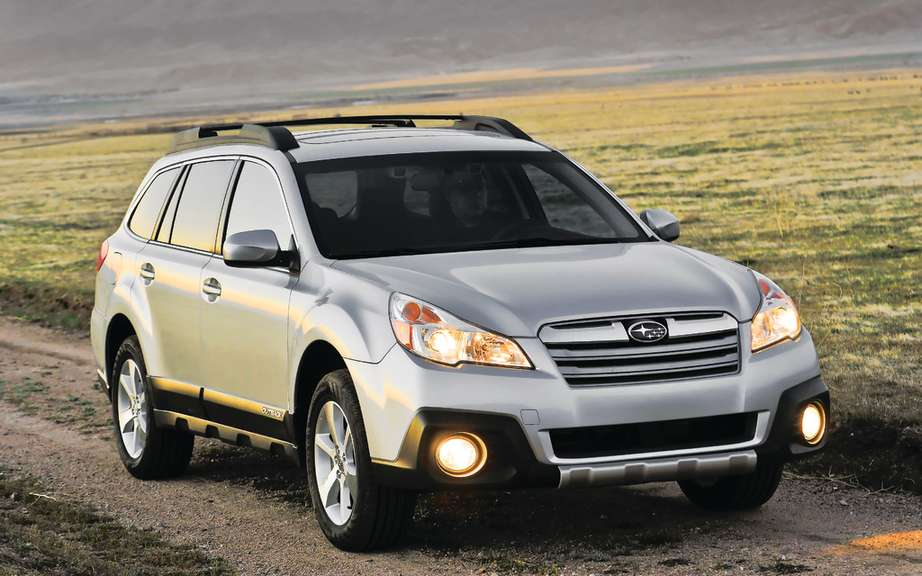The Subaru Legacy and Outback to get the highest score IIHS picture #4