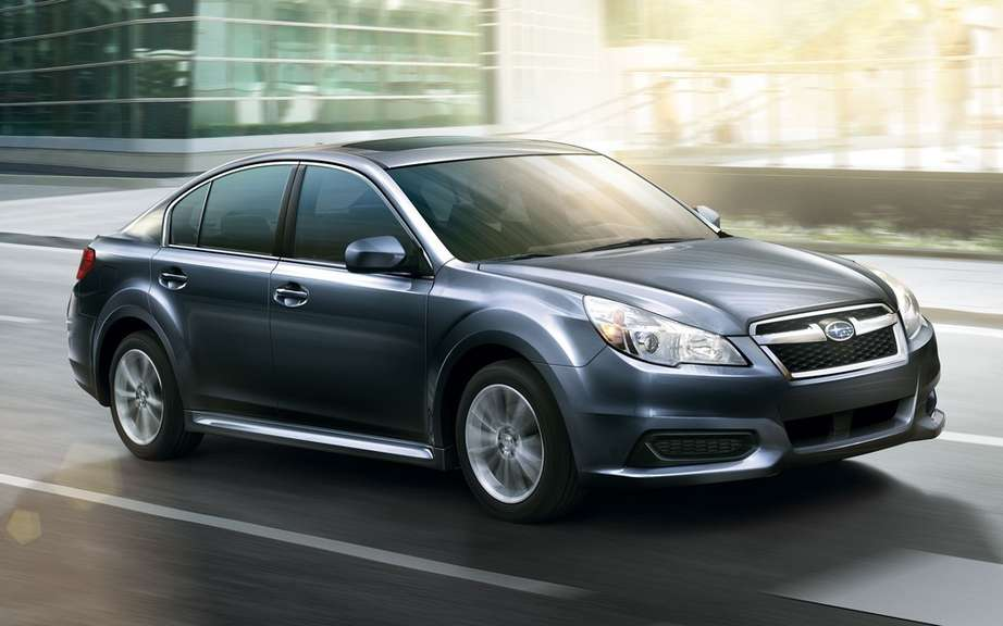 The Subaru Legacy and Outback to get the highest score IIHS picture #6