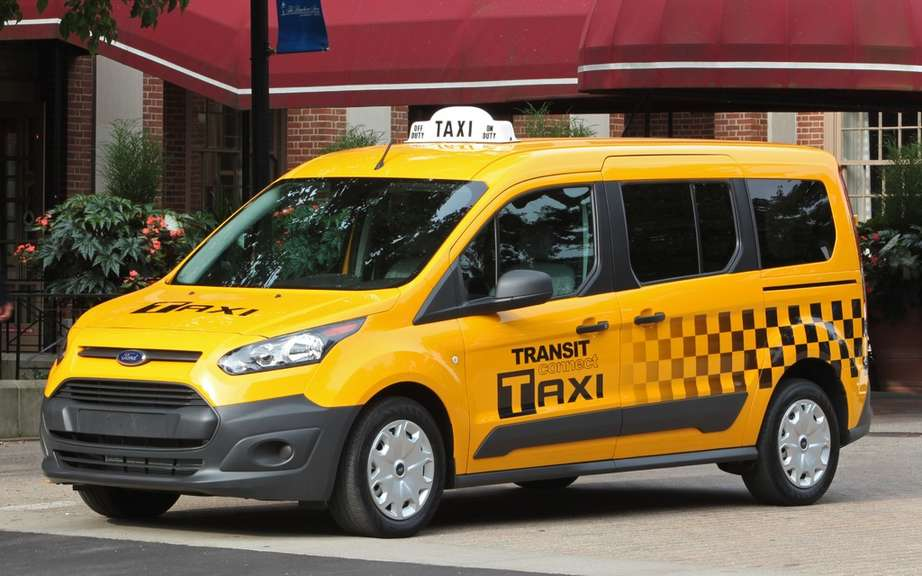 Ford Transit Connect Taxi: By the beginning of 2014