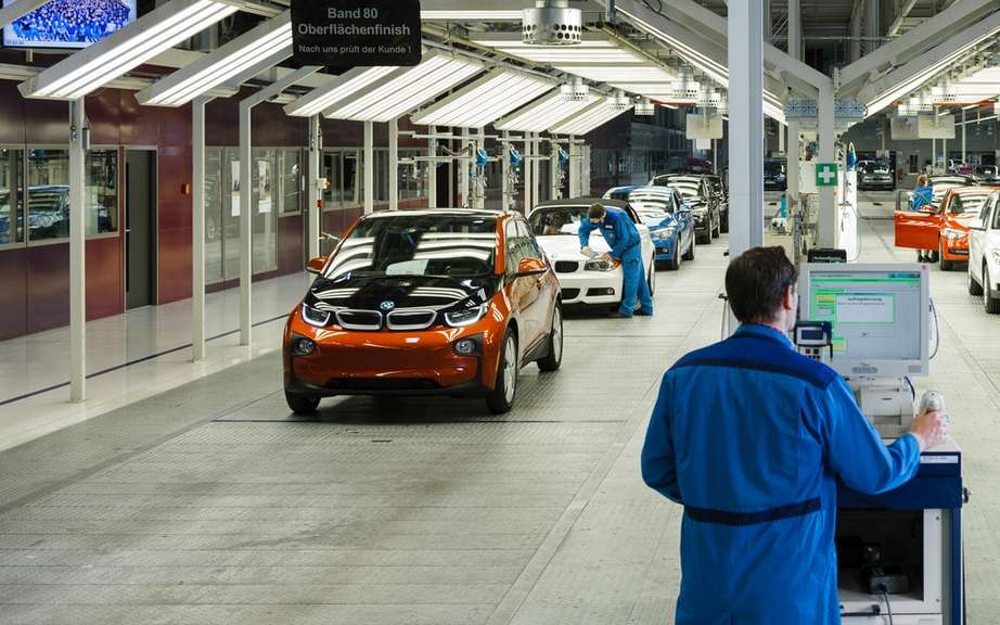 BMW i3: start of production