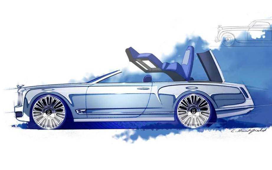 Bentley Mulsanne Convertible planned for 2014