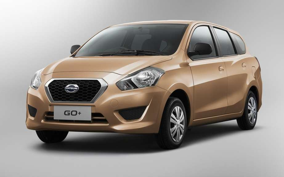 Datsun GO +: a compact entry-level multisegement picture #4