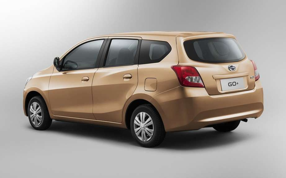 Datsun GO +: a compact entry-level multisegement picture #5