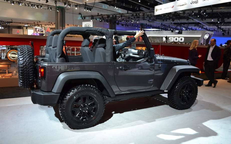 Jeep Wrangler Dragon Edition offered in North America