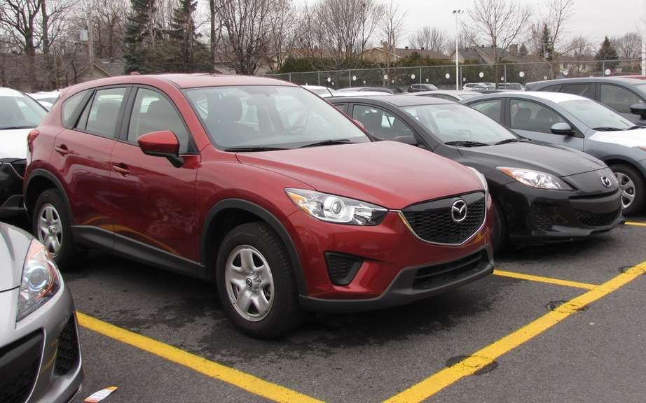 Mazda Canada announces increase in sales for the month of July 2013