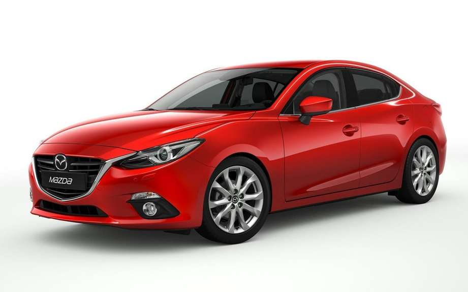 Mazda3 sedan 2014 the first official photos picture #2