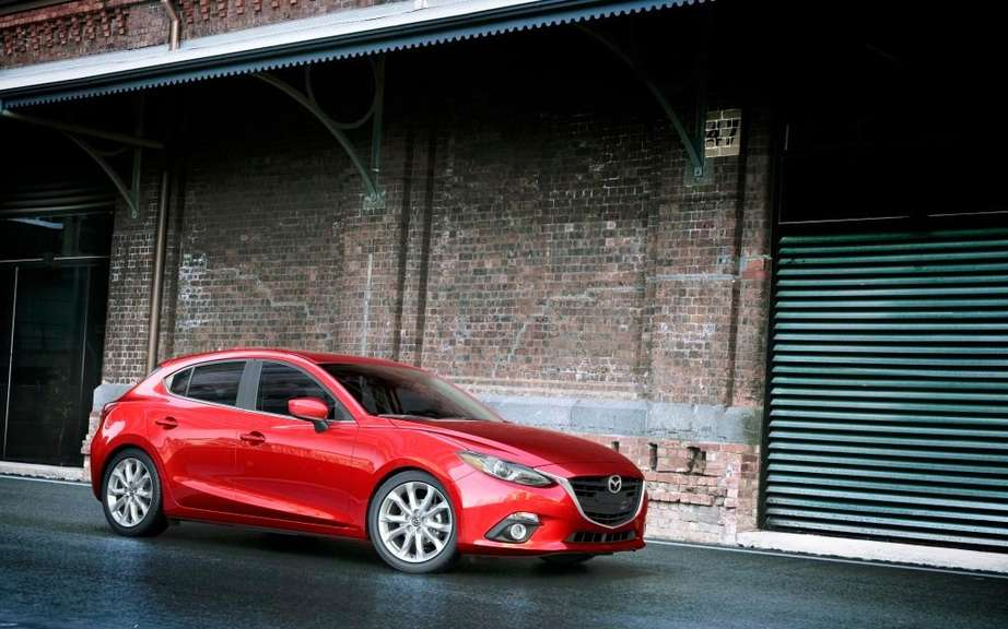 Mazda3 sedan 2014 the first official photos picture #4