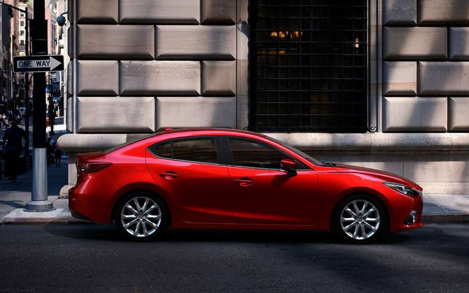 Mazda3 sedan 2014 the first official photos picture #7