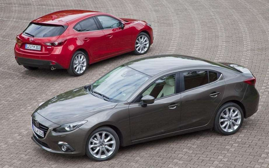 Mazda3 sedan 2014 the first official photos picture #14
