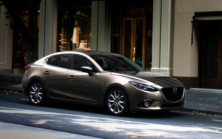 Mazda3 sedan 2014 the first official photos picture #15