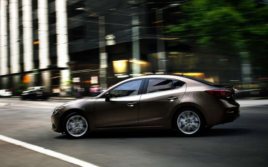 Mazda3 sedan 2014 the first official photos picture #16