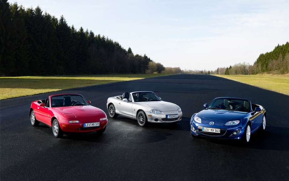 Mazda MX-5 is a record parade