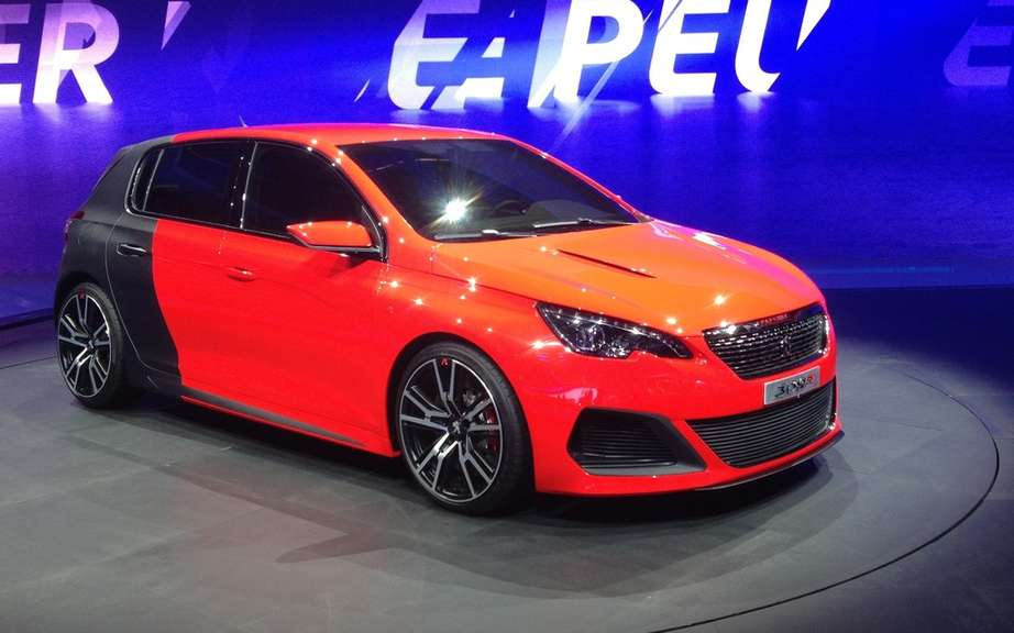 Peugeot 308: direct competitor to the Golf on European markets