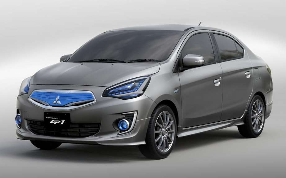 Mitsubishi offer a Mirage sedan in 2015 picture #4