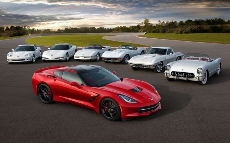 Chevrolet Corvette Stingray 2014: Two power levels picture #2