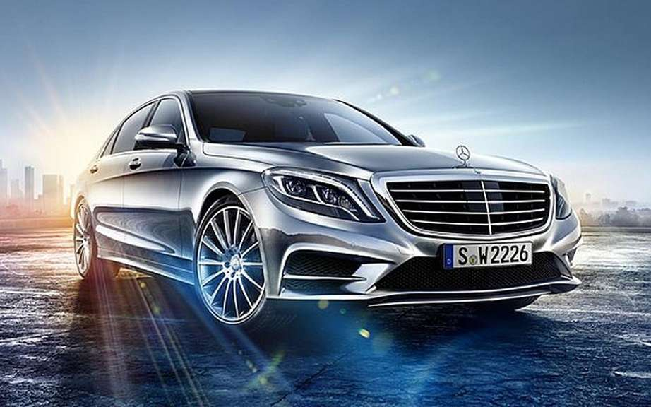 Mercedes-Benz S-Class 2014 new leak on the Net