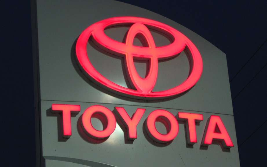 Toyota Canada Inc. crossed the 20,000 sales mark in a month