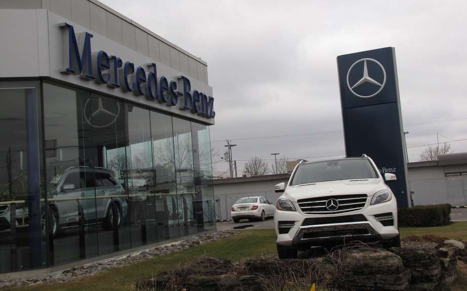 Mercedes-Benz Canada reports record sales for January