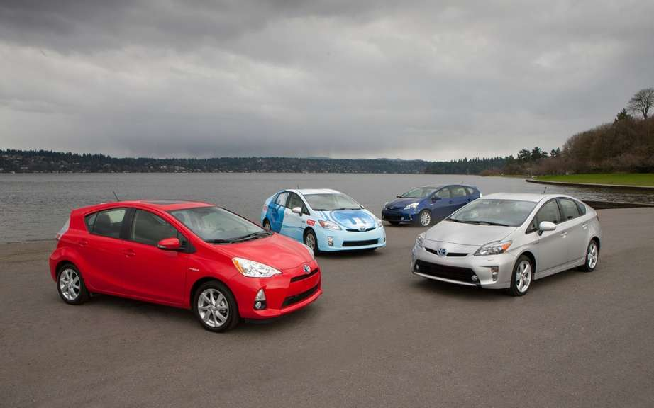 The hybrid Toyota sales EXCEED 5000000
