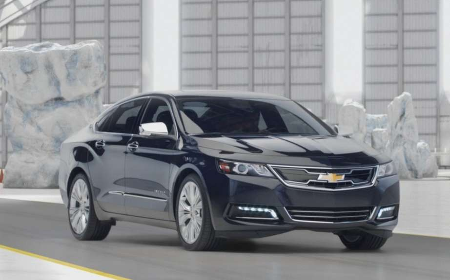 Chevrolet Impala 2014 start of production Oshawa
