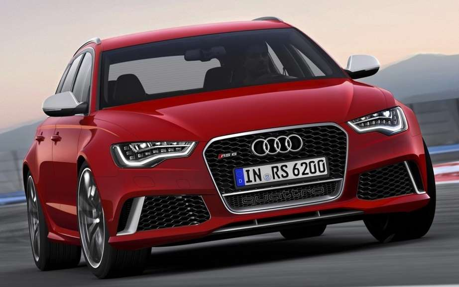 Audi RS6 Avant: V10 biturbo V8 replaced by a picture #1
