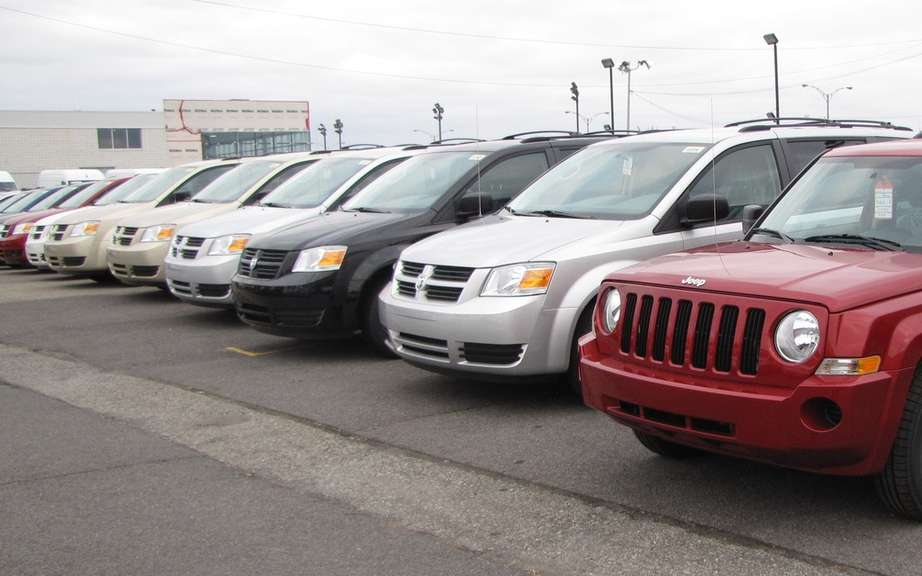 Sales of the big three Detroit Auto surged in February