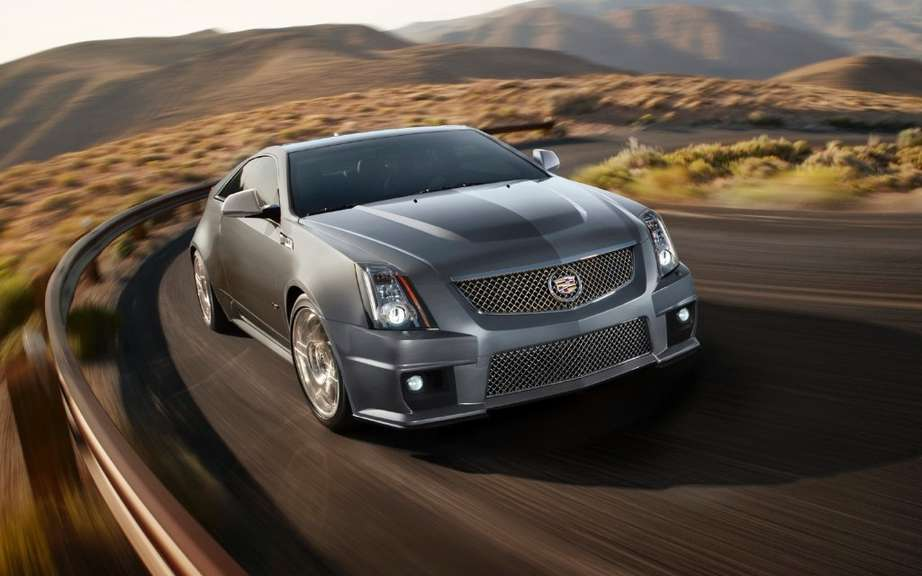 Cadillac CTS offered more colorful versions