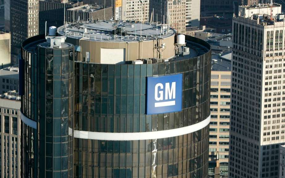 General Motors doubled its earnings in the fourth quarter