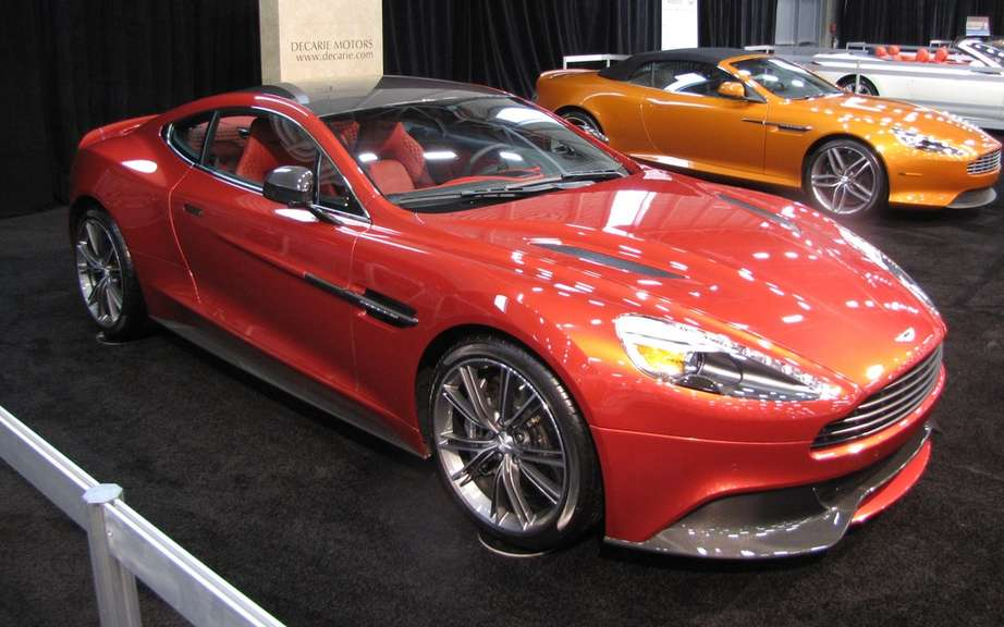 Aston Martin Vanquish: a first Salon Auto Quebec