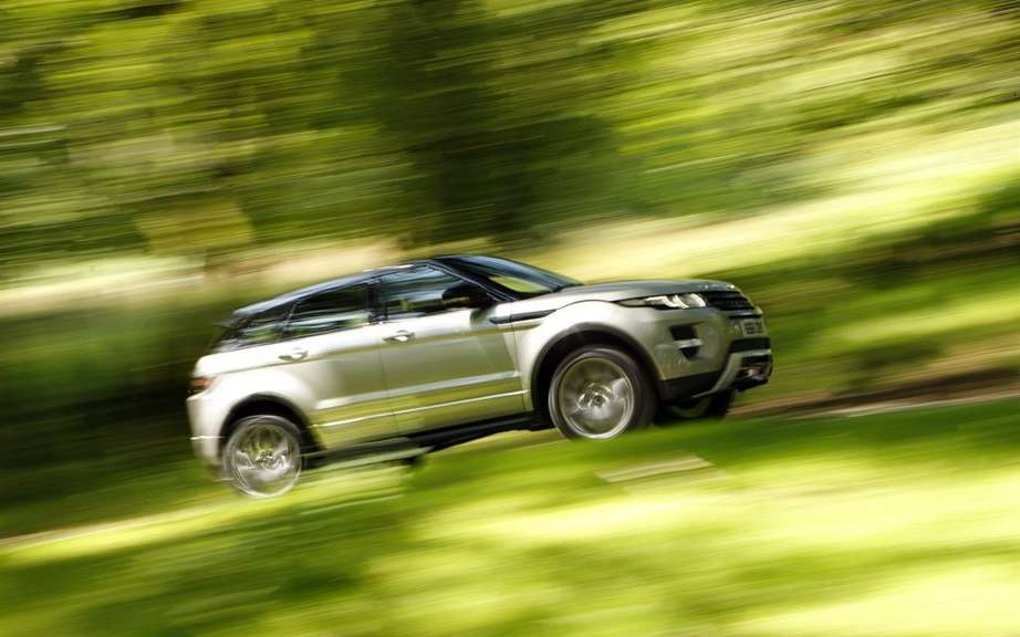 Range Rover Evoque XL: Seven places Version