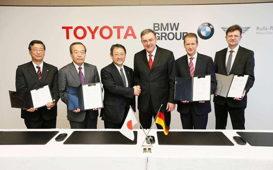 BMW and Toyota: narrower Collaboration