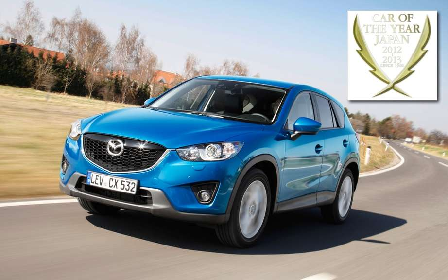 Mazda CX-5: elected Car of the Year Japan 2012-2013