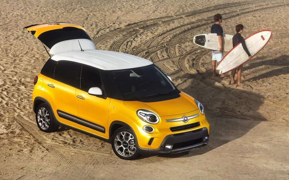 Two new versions of the Fiat 500, a larger electric and