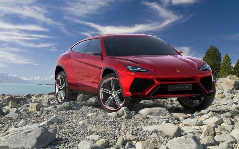 Lamborghini could produce an SUV in 2017