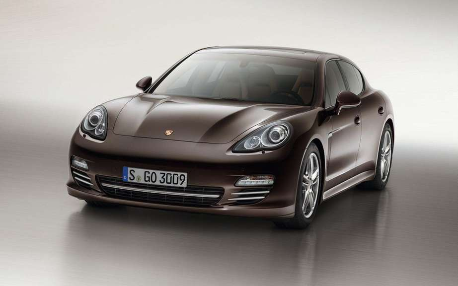 Porsche Panamera Platinum Edition: she is aptly named