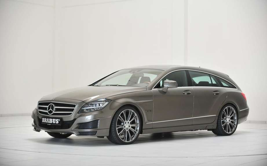 Brabus B63-620: High-performance version of the CLS Shooting Break
