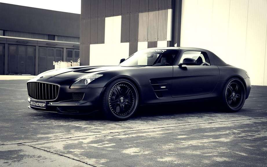 Kicherer Supercharged GT based on the Mercedes-Benz SLS AMG