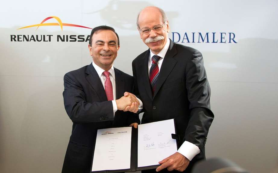 Renault-Nissan and Daimler an extended cooperation